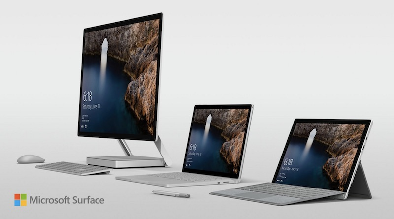 Microsoft Announces Surface Book i7, Desktop PC 'Surface Studio,' and Windows 10 Creators Update