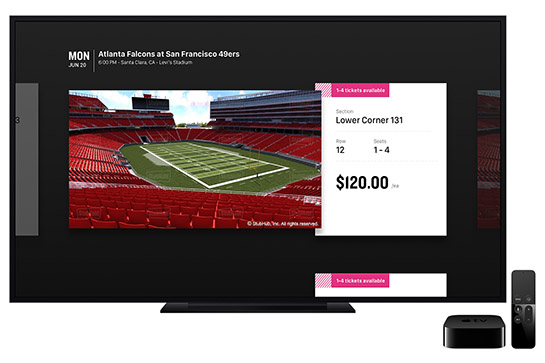 how to get nfl game pass on apple tv