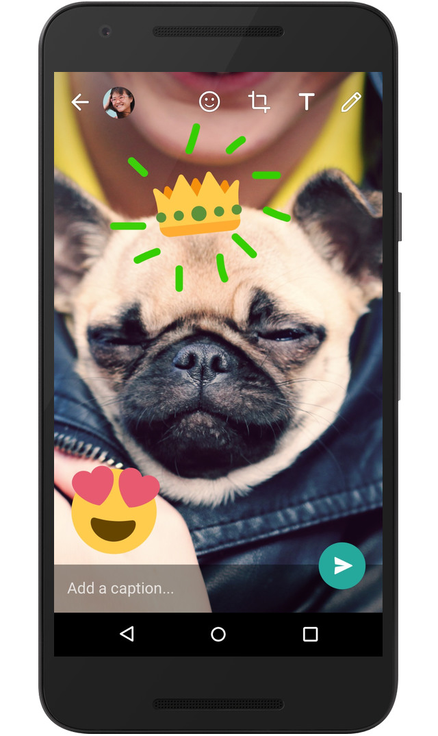 WhatsApp Update Adds the Ability to Write and Draw on Photos and Videos - IPhone Tips and Tricks