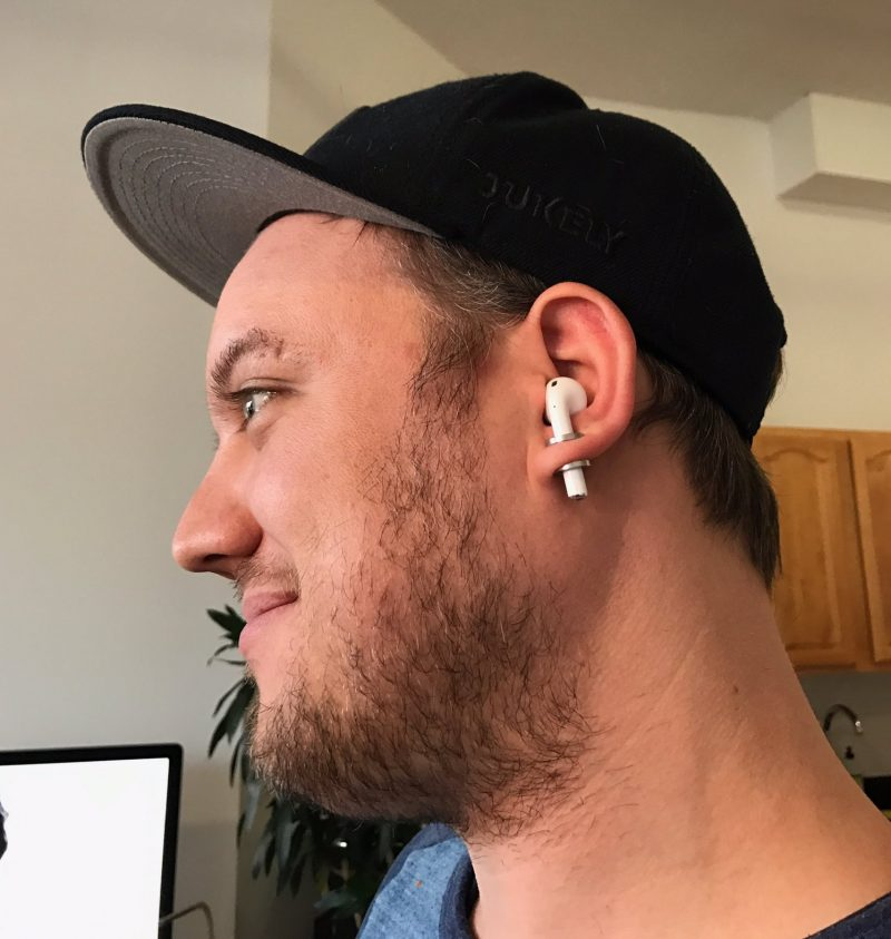 AirPods ear piercing