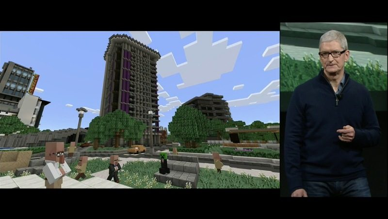 Minecraft pro Apple TV již dnes