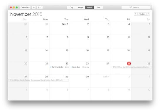 V kalendářích již můžete označit nevyžádané pozvánky jako spam