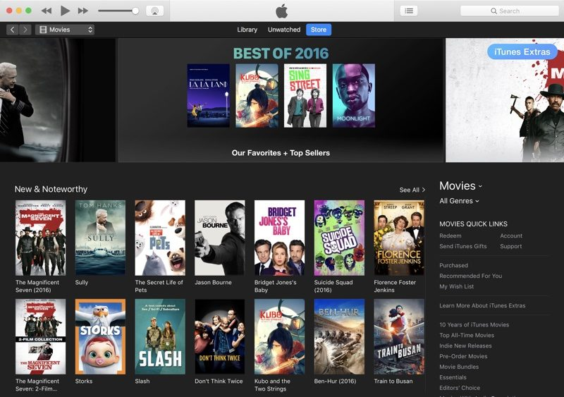 iTunes Movies Market Share Losing Out Against Rivals, Say Hollywood Sources