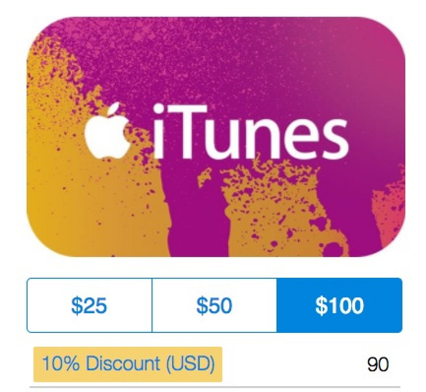 paypal offering 10 off itunes gift cards through holidays mac rumors. Black Bedroom Furniture Sets. Home Design Ideas