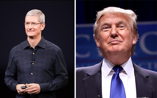 Tim Cook se zúčastní technologické summitu s Donaldem Trumpem