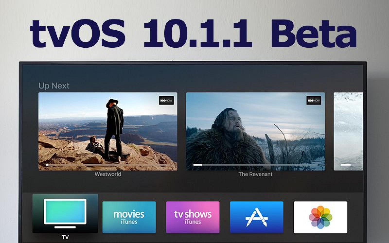 Apple Seeds Second Beta of TvOS 10.1.1 to Developers
