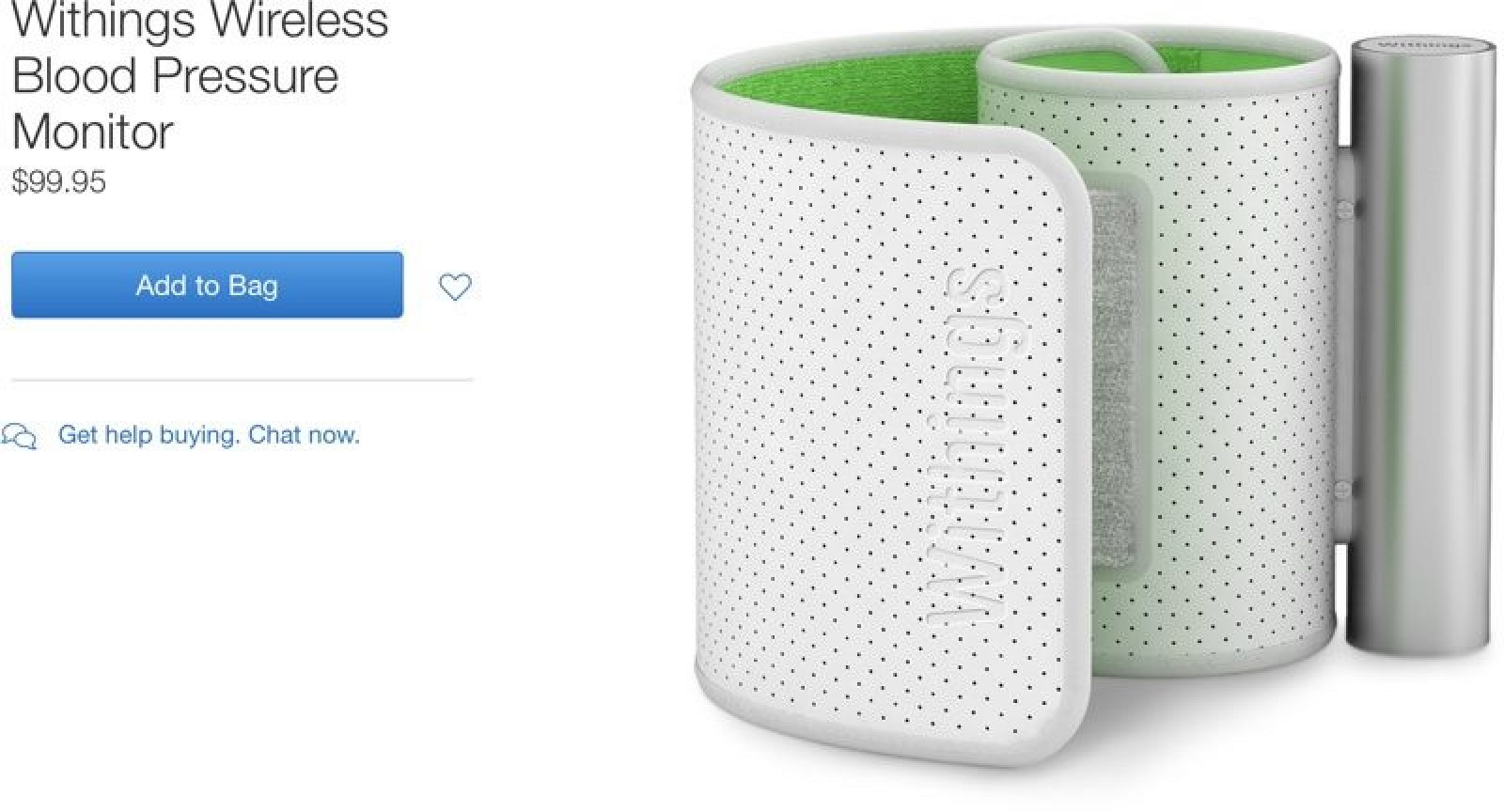 Apple Pulls All Withings Accessories From Apple Online Store Following Nokia Lawsuit