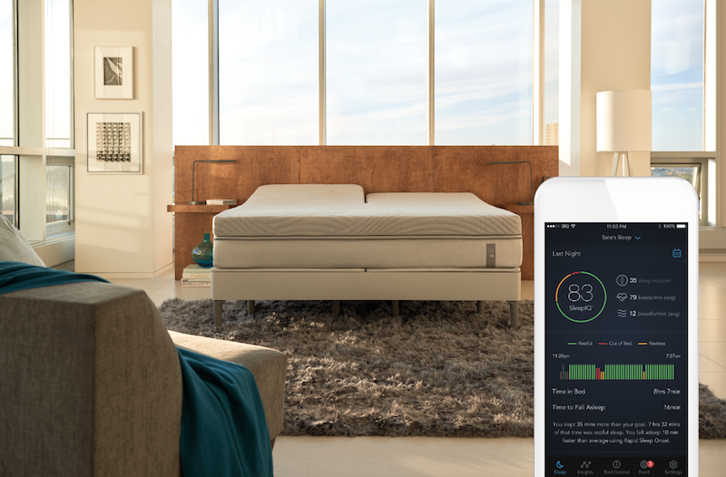 Sleep Number's smart bed adjusts to your nighttime fidgeting