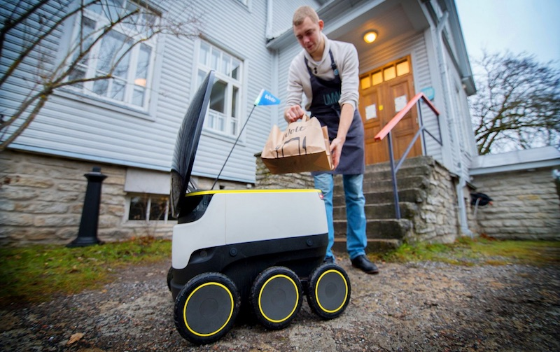Robot deliveries are about to hit United States streets