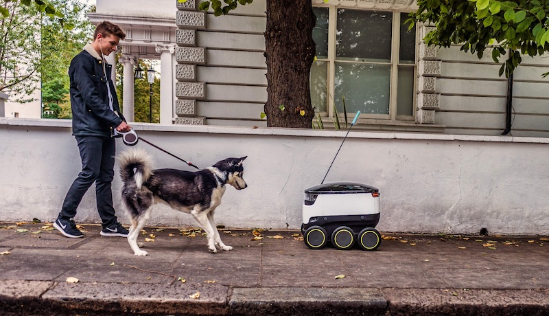 DoorDash and Postmates Are Going to Start Testing Robot Deliveries