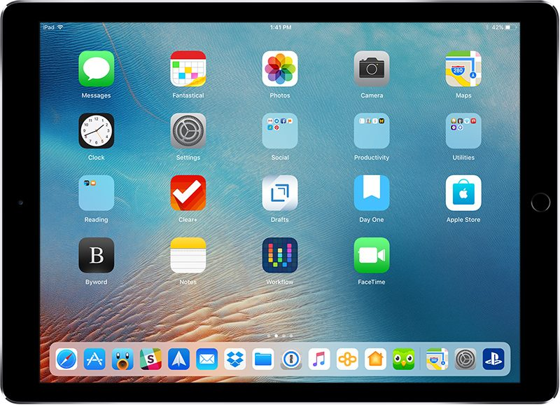 how to access control center and home screen in ios 12 with the ipad s new gestures