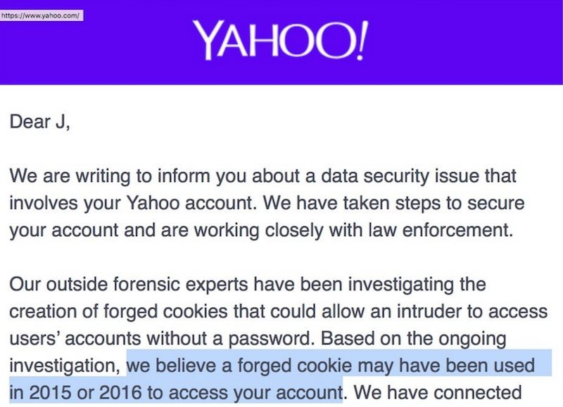 Yahoo Warns Users of Third Data Breach As Verizon Closes in on Revised Deal