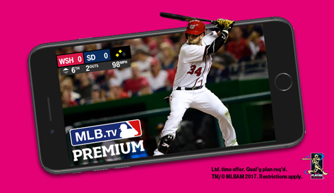 Mobile is giving away a free subscription to MLB.TV Premium