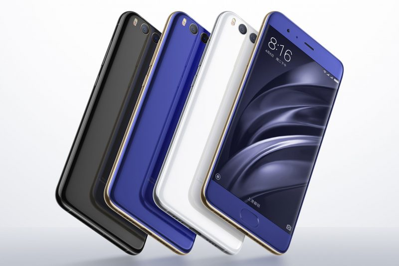 Xiaomi Mi 6 to come with 11 new colors options