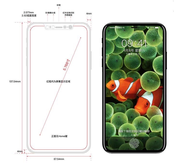 Leaked iPhone 8 schematics tease new sort of metal bezel