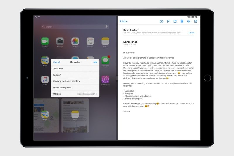 iOS 11 Concept Imagines Overhauled iPad Interface With Drag-and-Drop Functionality