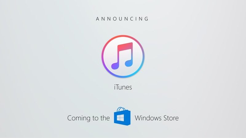 itunes not coming to microsoft s windows store in 2017