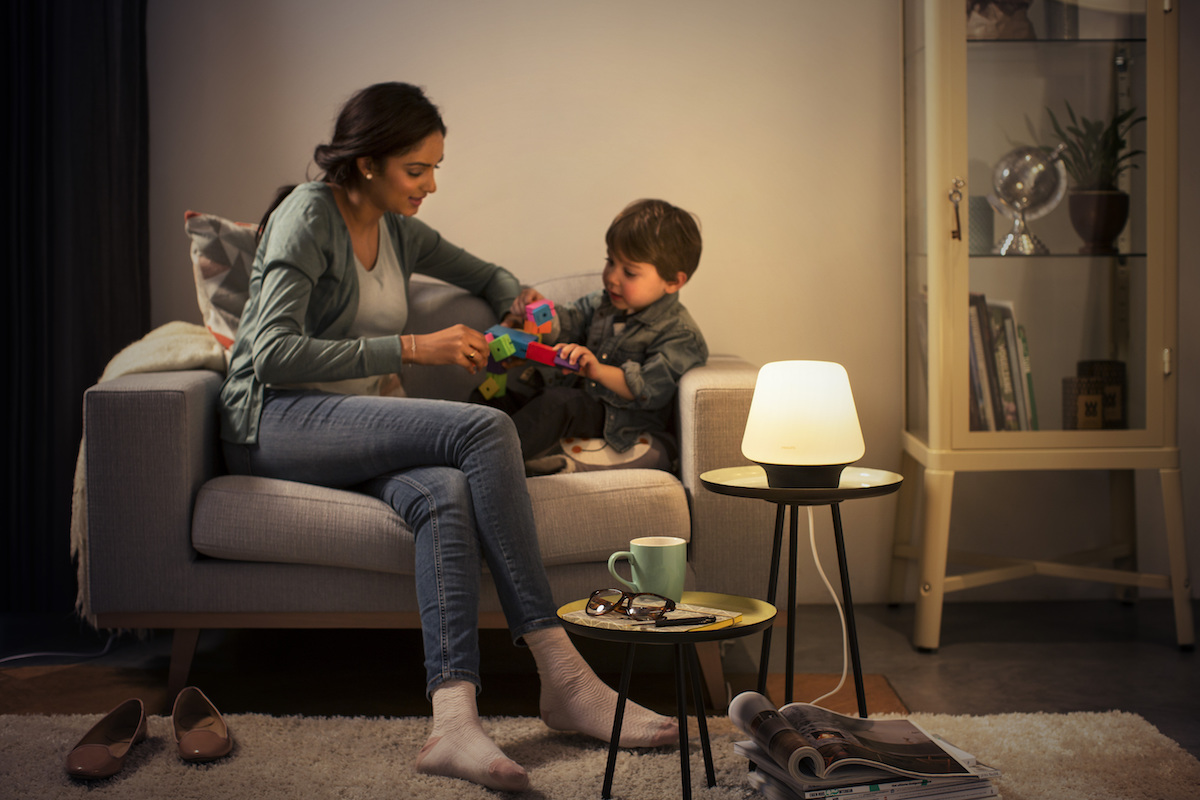 Philips Hue Announces New White Ambience Table Lamps and Light Fixtures
