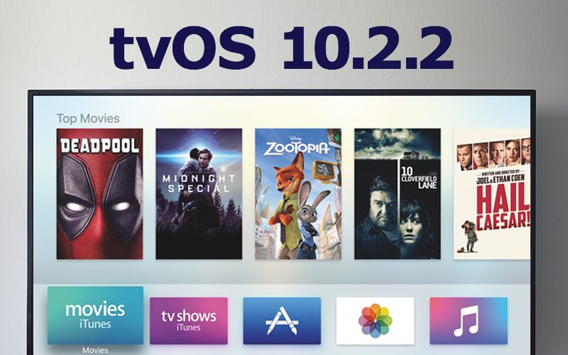Apple Releases tvOS 10.2.2 for Fourth-Generation Apple TV