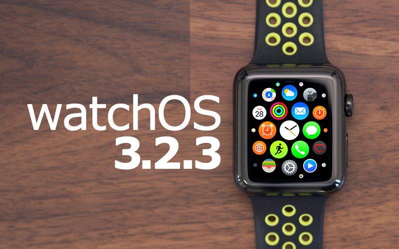 Apple Releases Minor watchOS 3.2.3 Update for Apple Watch