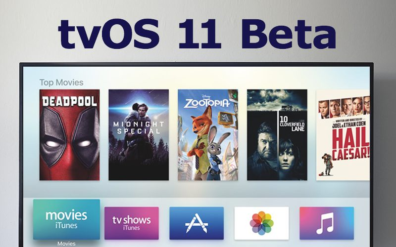 Apple Seeds Second Public Beta of tvOS 11 to Public Beta Testers