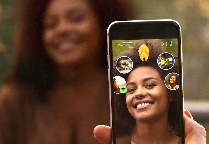 AR Startup Blippar Showcases 'Halos' Facial Recognition Feature in its Mobile App