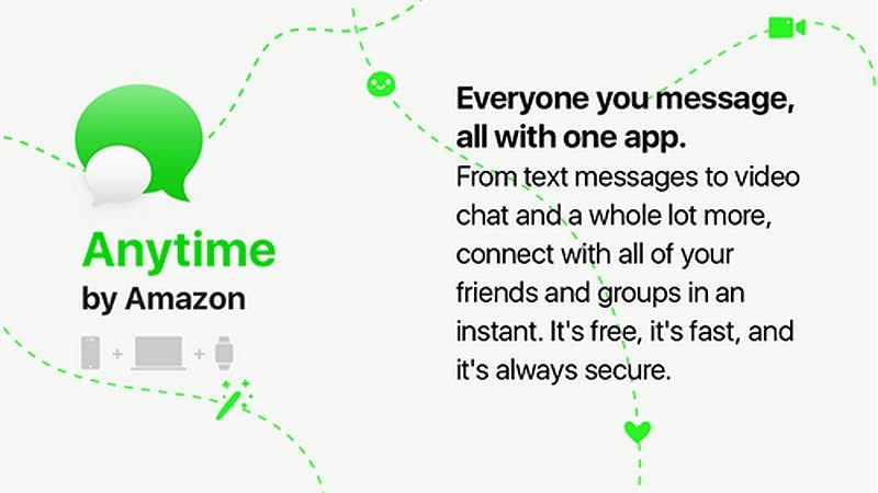 Amazon is Reportedly Readying a New Messaging Platform Called 'Anytime'