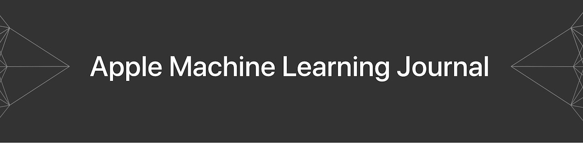 Apple Launches New Blog to Share Details on Machine Learning Research