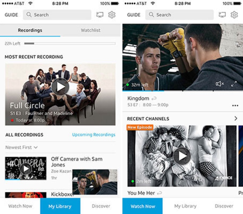AT&T's DirecTV Now to Gain Cloud DVR and Revamped User Interface