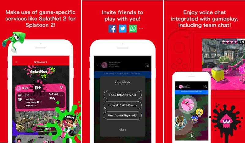 'Nintendo Switch Online' iOS App Now Available