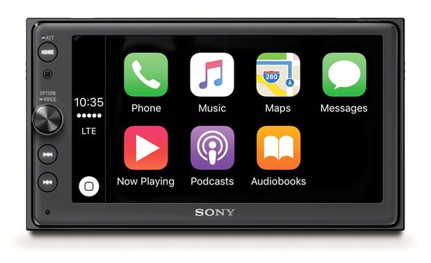 sony introduces new aftermarket carplay and siri eyes free systems macrumors mac news and. Black Bedroom Furniture Sets. Home Design Ideas
