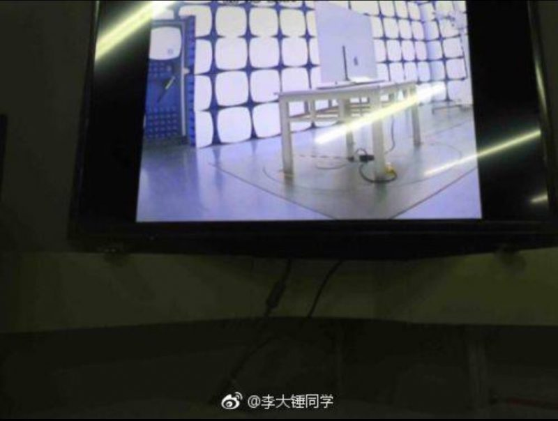 Blurry Leaked Images Depict Alleged 'Apple OLED TV' in Testing Facility