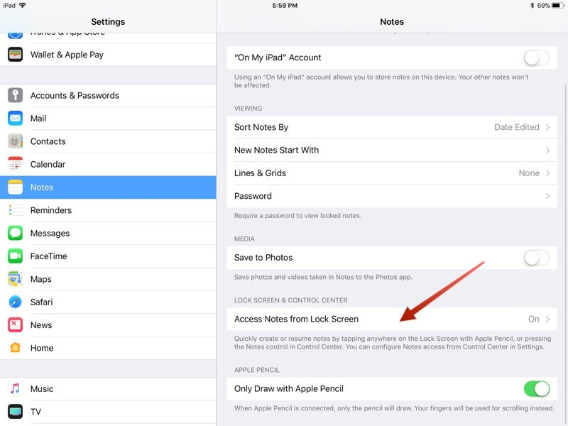 how to use notes on mac