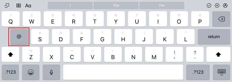 how to bring up keyboard at any time on ipad