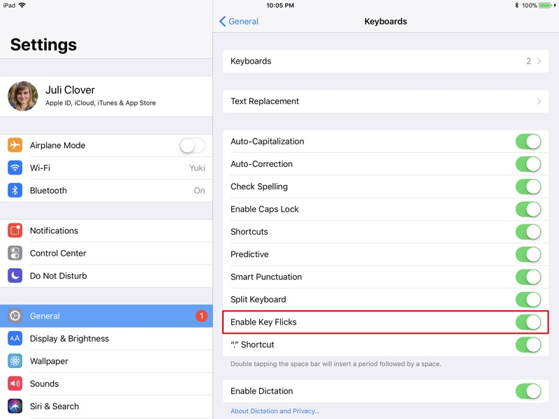 How To Use The Ipads New Flick Keyboard In Ios 11 Mac Rumors