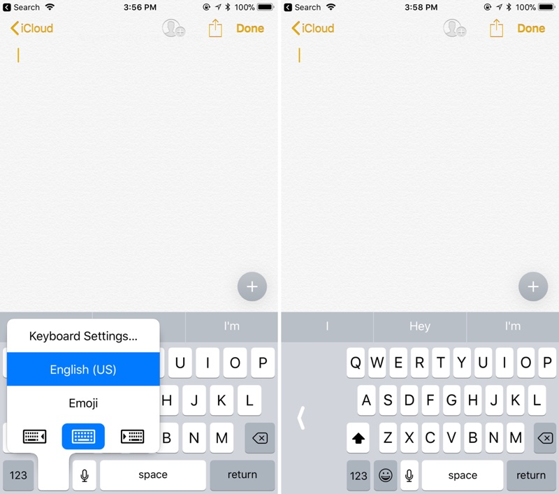 How to Use the New One-Handed Keyboard in iOS 11
