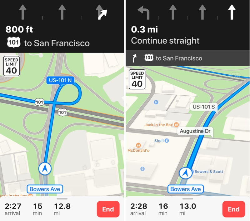 apple maps lane guidance expands to czech republic finland hungary ireland and poland