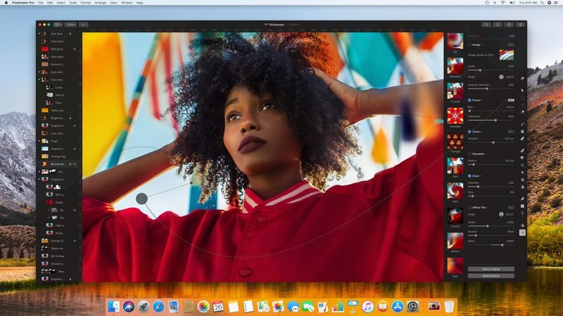 new pixelmator pro photo editing app for mac now available