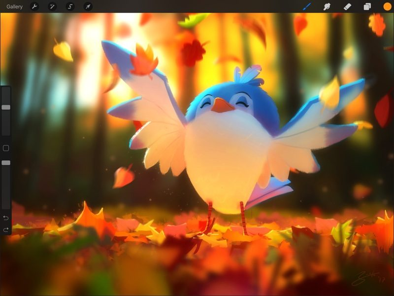 procreate for ipad gains new liquify filter warp transform mode and symmetry drawing guide