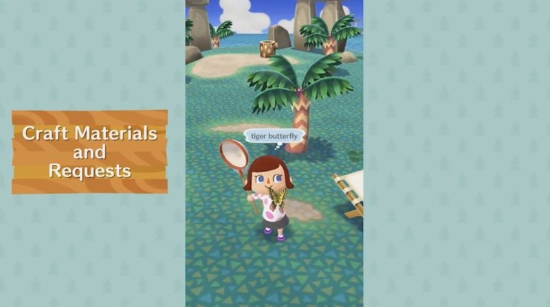 Animal Crossing Pocket Camp Animals Ask To Craft Items