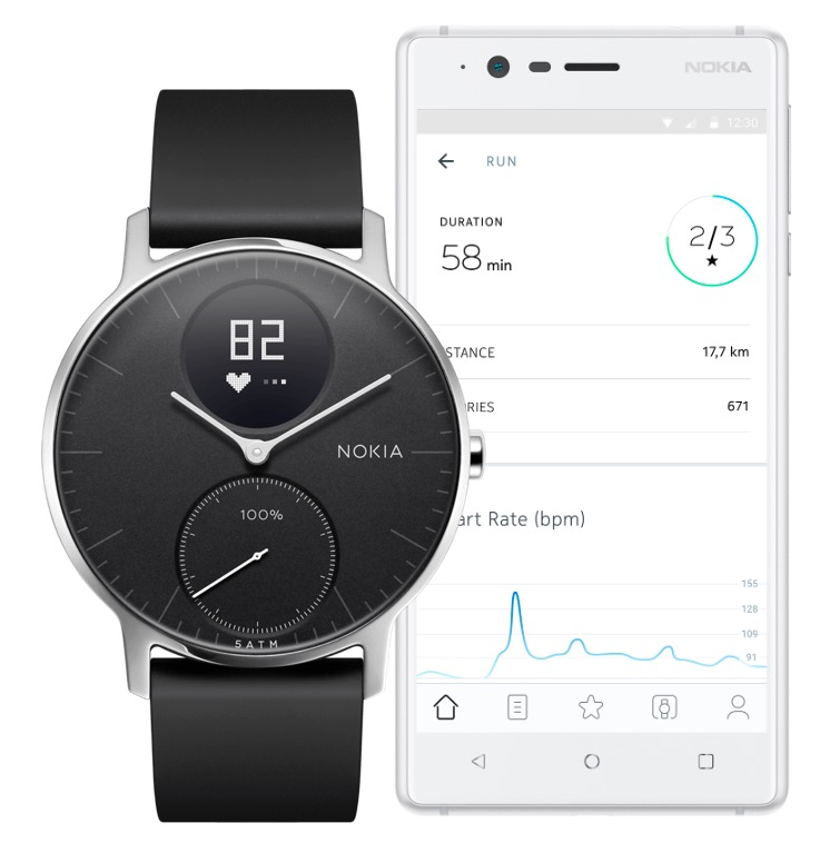 after a year long delay the nokia steel hr hybrid smartwatch is now available for pre order