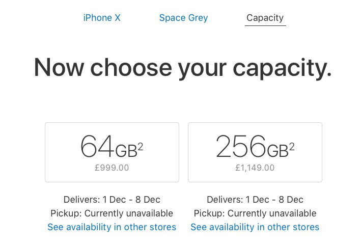 iPhone X Shipping Estimates Improve to 1 to 2 Weeks Across Europe and Asia
