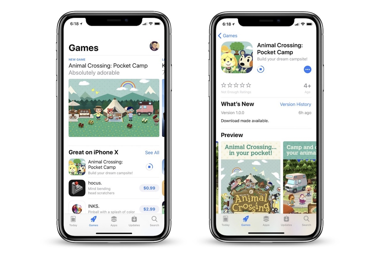 animal crossing pocket camp begins early worldwide rollout on the ios app store update