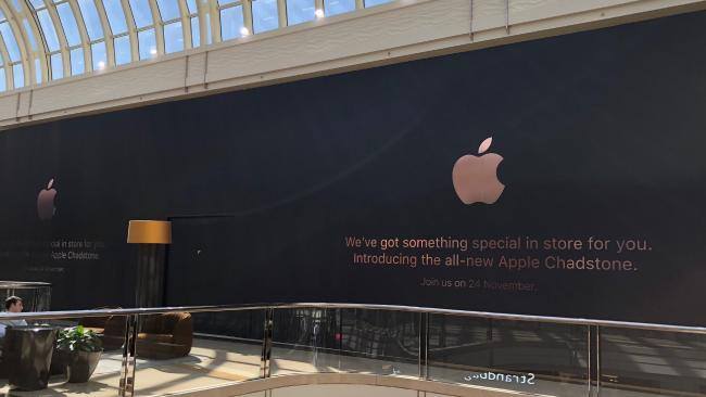 first australian apple store gets modern redesign as thieves rob apple regent street in uk