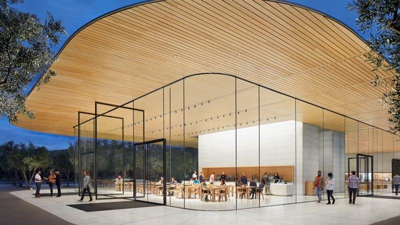 apple park visitor s center now open to the public