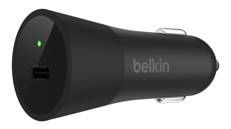 belkin debuts 36w usb c car charger that offers fast charging for iphone x 8 and 8 plus