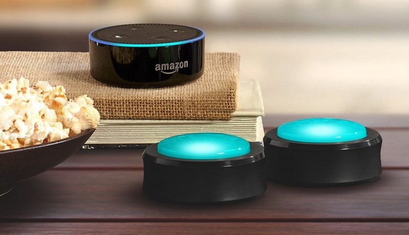 Amazon 'Echo Buttons' Trivia Game Accessories Now Available to Pre-Order