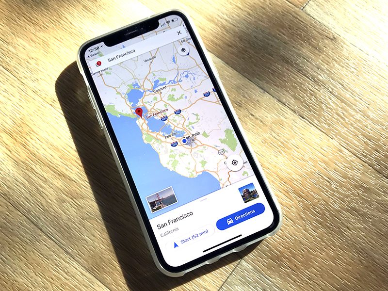 Google Maps Updated With Support For Iphone X Macrumors