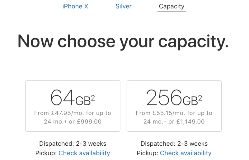 iphone x shipping estimates improve to 2 to 3 weeks in europe us could be next updated