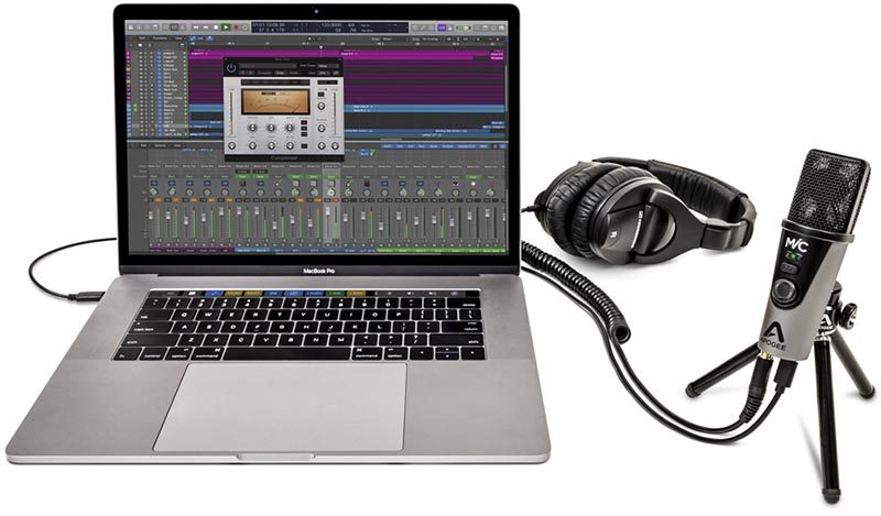 apogee and ik multimedia launch new mic plus and irig mic hd 2 digital microphones for mac ipad and iphone